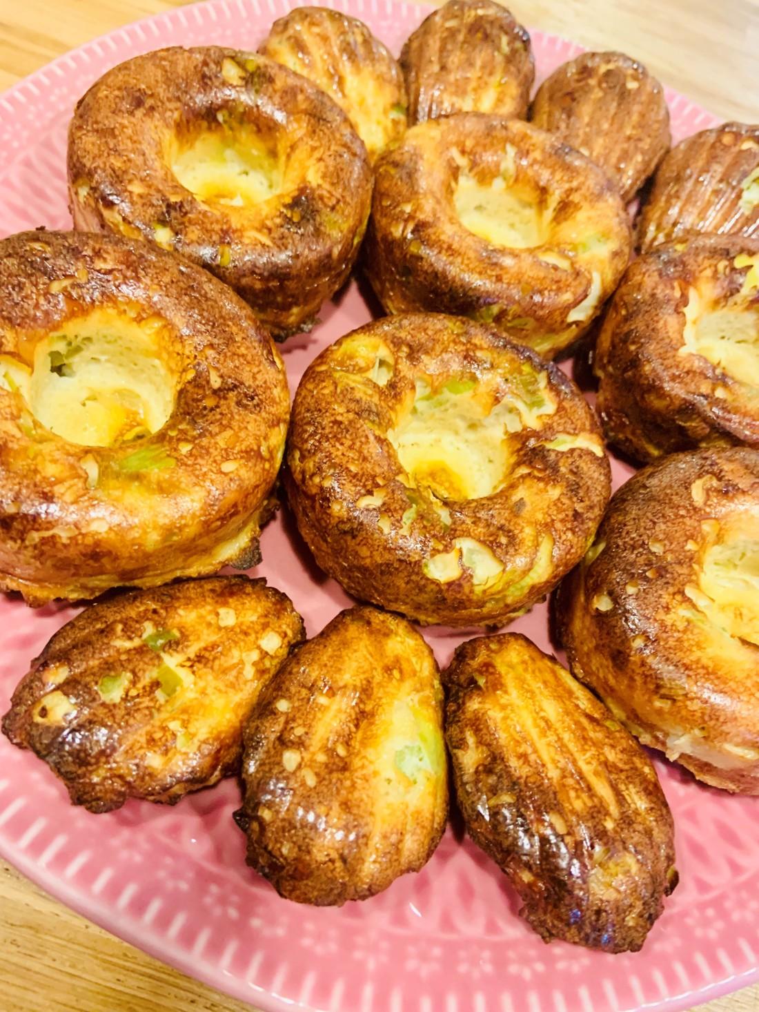 muffins poireaux oignons keto